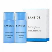 Bộ Dưỡng Ẩm Da Laneige Basic Care Moisture Trial Kit (2pcs)