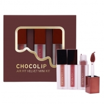 Son Kem Black Rouge Chocolip Air Fit Velvet Mini Kit