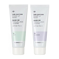 Kem Lót Kiềm Dầu The Face Shop Air Cotton Make Up Base