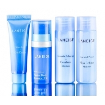 Bộ Dưỡng Da Laneige Moisture Care Trial Kit (4 Items)