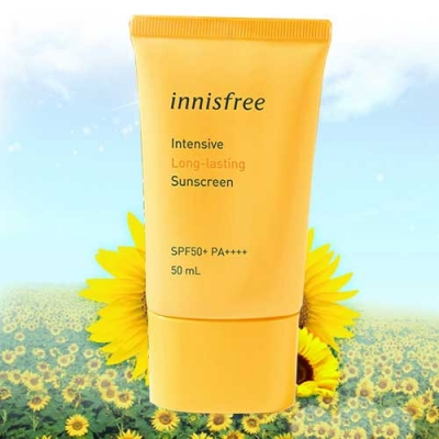 Kem Chống Nắng Innisfree Intensive Long - Lasting Sunscreen SPF 50+ PA++++ 50ml
