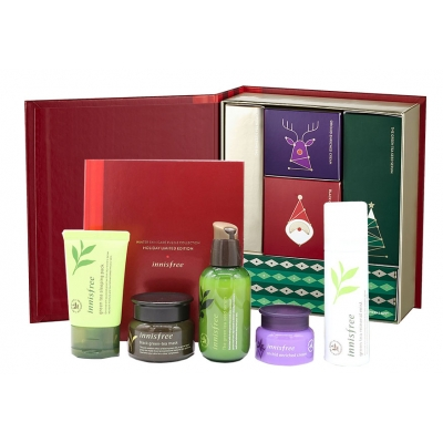 Bộ Dưỡng Da Innisfree Winter Skincare Puzzle Collection Holiday