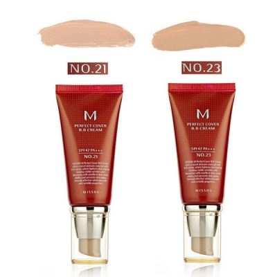 Kem Nền BB Missha M Perfect Cover BB Cream SPF42/PA++