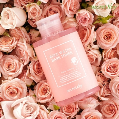 Nước Hoa Hồng Secret Key Rose Water Base Toner 550ml