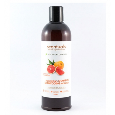 Dầu Gội Scentuals Grapefruit 100% Natural Moisturizing Shampoo 500ml