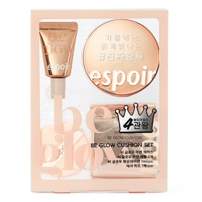Set Phấn Nước Espoir Be Glow Cushion ( SPS42 PA++)