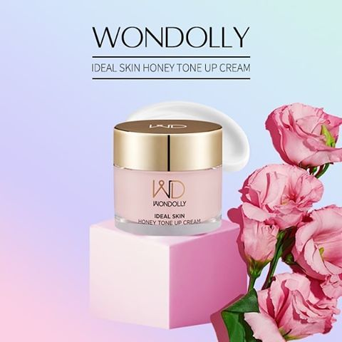 Wondolly Ideal Skin Honey Tone Up Cream