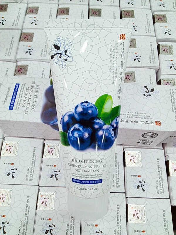 Tẩy Tế Bào Chết 3W Clinic Brightening Oriental Masterpiece Seo Dam Han