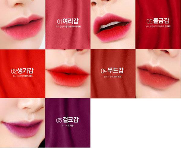 Son Kem Bbia Last Velvet Lip Tint