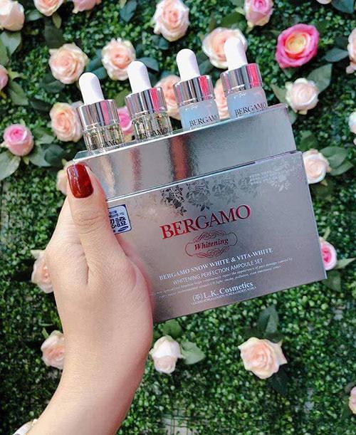 Serum Bergamo Snow White - Vita White Whitening Perfection Ampoule Set