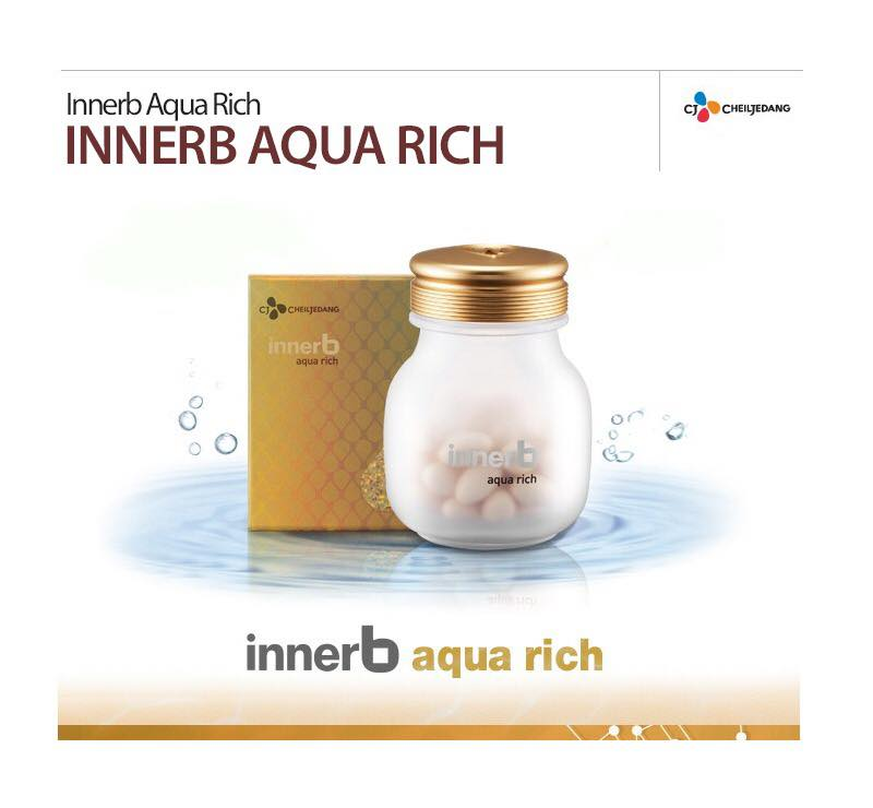 Viên Uống Bổ Sung Nước Và Collagen Innerb Aqua Rich (56 viên)