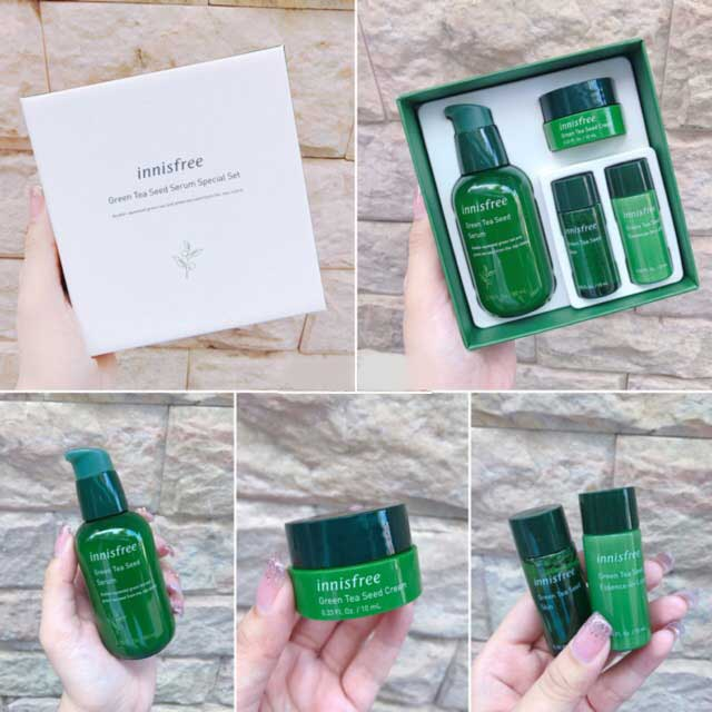 Innisfree Green Tea Seed Serum Special Set