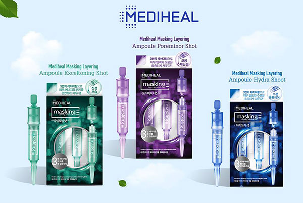 Tinh Chất  Mặt Nạ Mediheal Masking Layering Ampoule