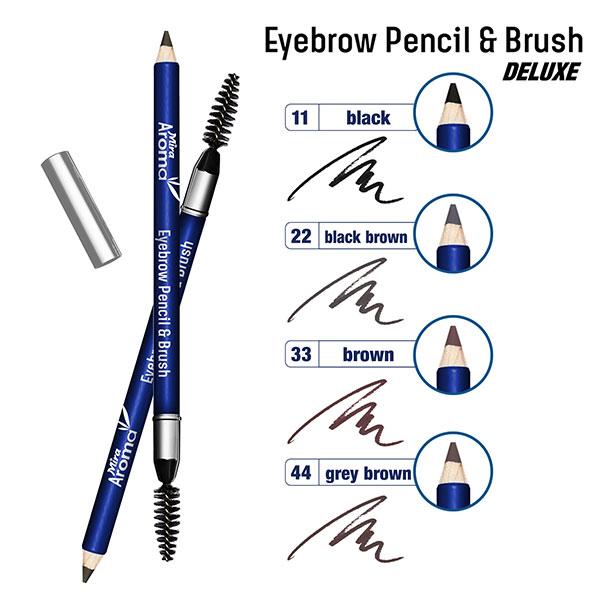 Chì Kẻ Mày Mira Aroma Eyebrow Pencil & Brush