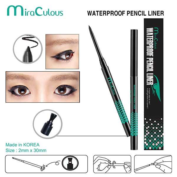 Gel Kẻ Mí MiraCulous Waterproof Pencil Liner