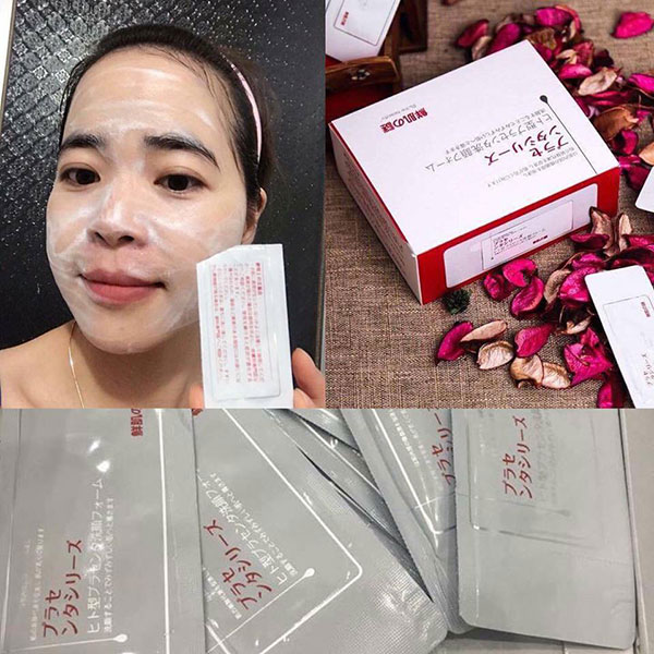 Mặt Nạ Rwine Beauty Placenta Face Cleanser