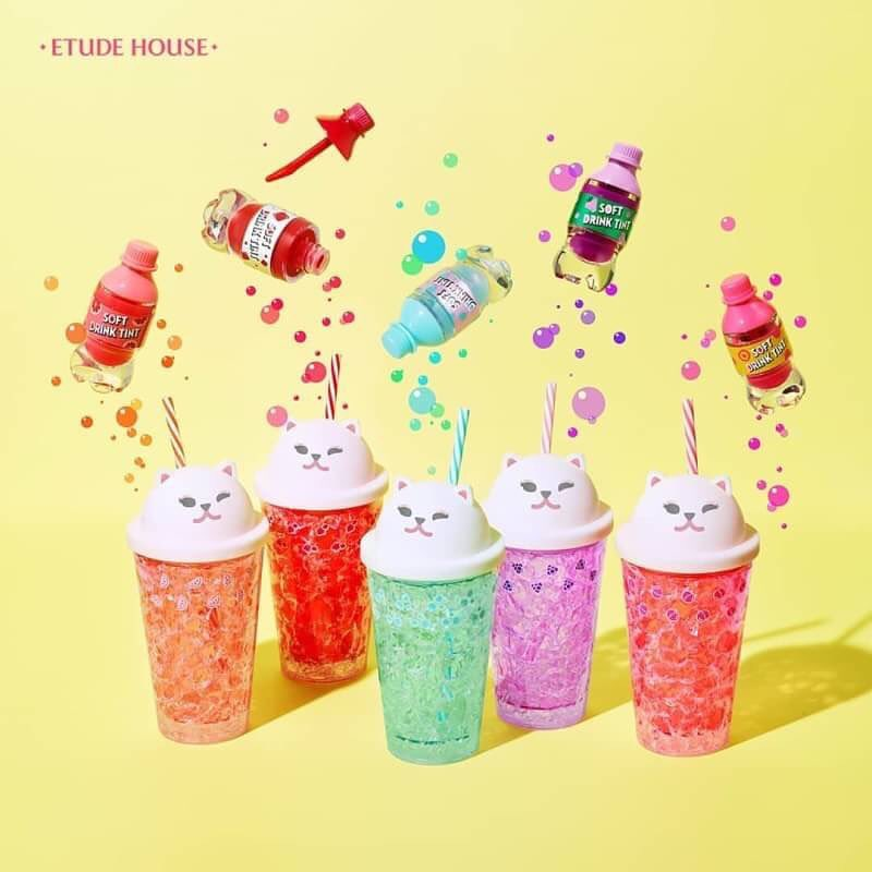 Son Tint Giải Nhiệt Mùa Hè Etude House Soft Drink Tint 4.6g