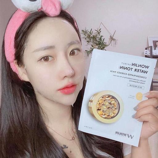 Mặt Nạ Dưỡng Trắng Da Wonjin Effect Water Toning Mask