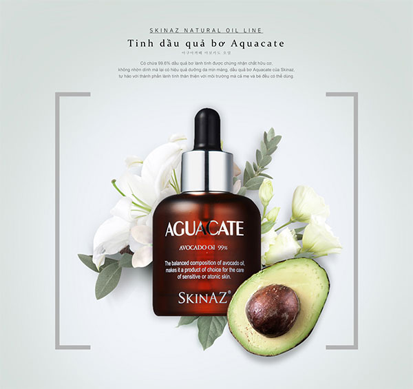 ​ Serum Skinaz Aguacate Avocado Oil 99.6% Tinh Chất Bơ  Click and drag to move ​