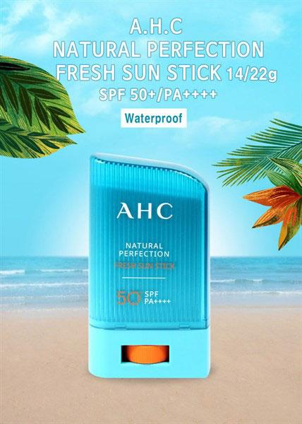 Kem Chống Nắng Natural Perfection Fresh Sun Stick SPF50+ PA++++ Dạng Thỏi