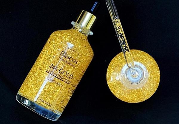 Tinh Chất Vàng Biocos 24k Gold Energy Ampoule Pure Gold Dưỡng Da Ngừa Lão Hóa