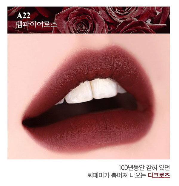 [Siêu Rẻ] Son Kem Black Rouge Air Fit Velvet Tint Ver. 4 Bad Rose
