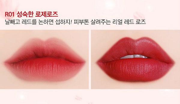  Son Thỏi Black Rouge Rose Velvet Lipstick