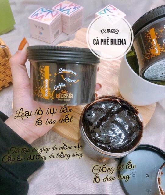 Tẩy Tế Bào Chết Body Coffee Scrub Bilena