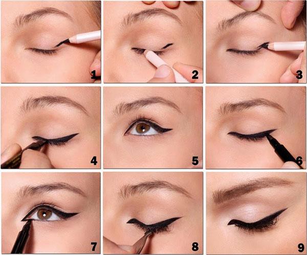 Image result for cách trang điểm mắt