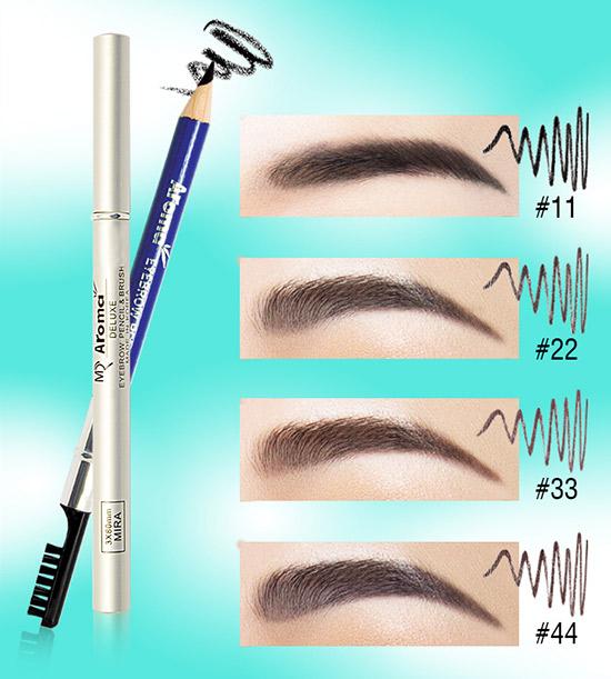 Chì vẽ mày Aroma Eyebrow Pencil