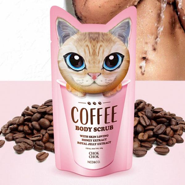 Tẩy Tế Bào Chết Toàn Thân Chok Chok Coffee Body Scrub