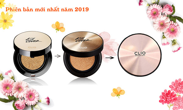 Phấn Nước Clio Kill Cover Founwear Cushion XP SPF 50