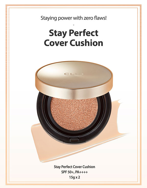 Phấn Nước Clio Stay Perfect Cover Cushion SPF 50+ PA++++