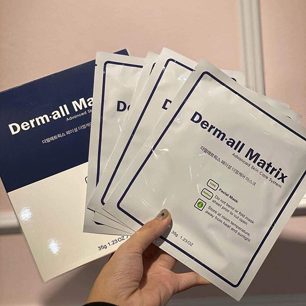 Mặt Nạ Derm-All Matrix Facial Dermal Care Mask
