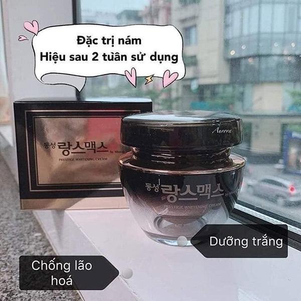 Kem Dưỡng Trị Nám Da Dongsung Prestige Whitening Cream
