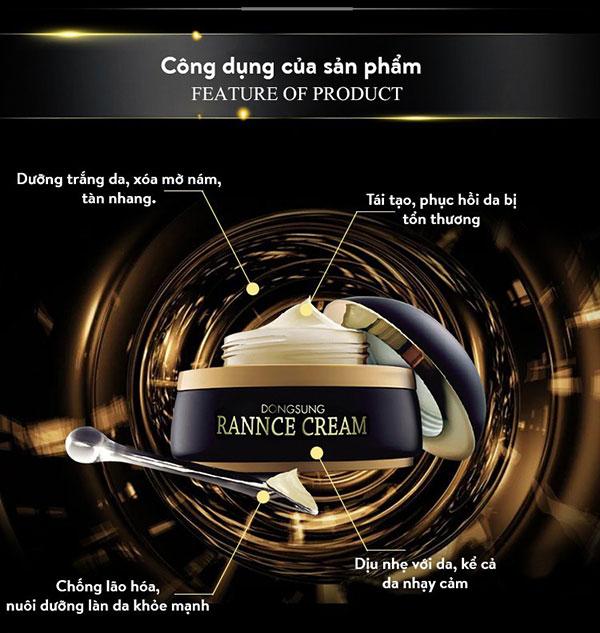 Kem Dưỡng Da DongSung Rannce Cream 10g Trị Nám,Tàn Nhang