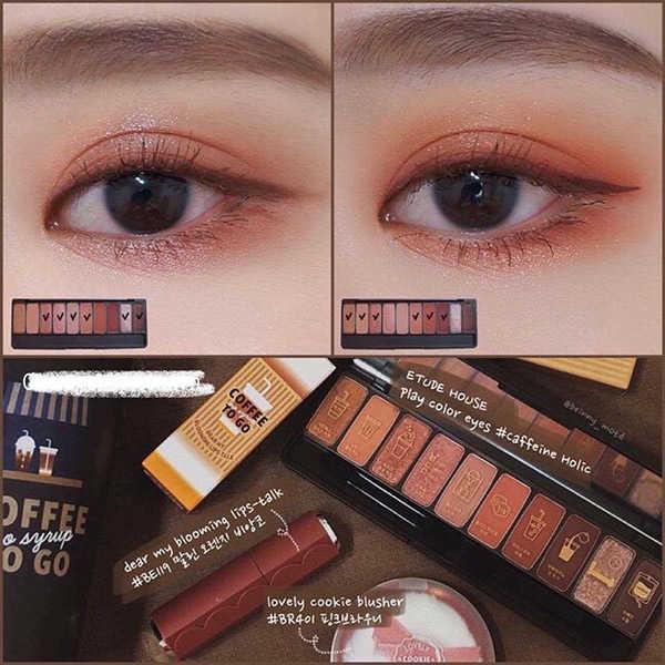 Phấn Mắt Etude House Play Color Eyes Caffeine Holic