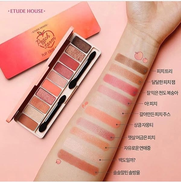 Phấn Mắt Etude House Play Color Eyes Peach Farm