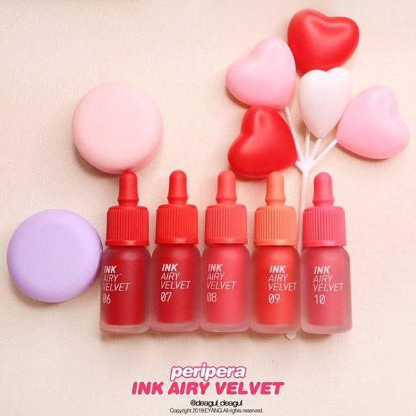 Son Kem Lì Peripera Ink Airy Velvet Lip Tint
