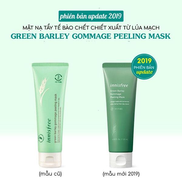 Mặt Nạ Tẩy Tế Bào Chết Innisfree Green Barley Gommage Peeling Mask