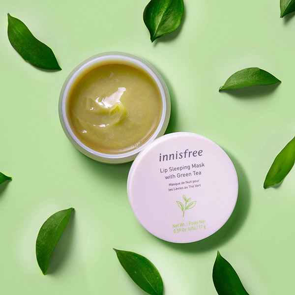 Mặt Nạ Ngủ Cho Môi Innisfree Lip Sleeping Mask With Green Tea 17gram