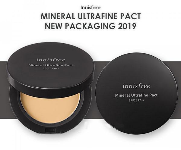 Phấn Phủ Innisfree Mineral Ultrafine Pact Dạng Nén