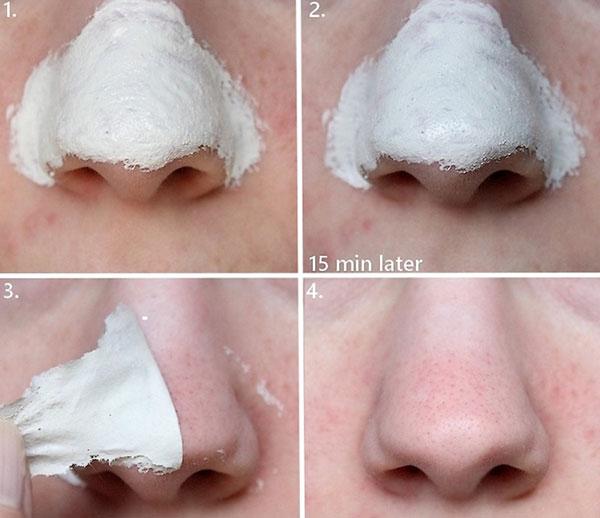 Mặt Nạ Lột Mụn Mũi The Face Shop Jeju Volcanic Lava Peel-Off Clay Nose Mask