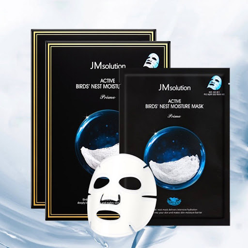 Mặt Nạ Tổ Yến Jm Solution Active Bird's Nest Moisture Mask Prime: