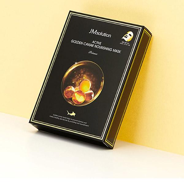 Mặt Nạ Trứng Cá Vàng JMSolution Active Golden Caviar Nourishing Mask: