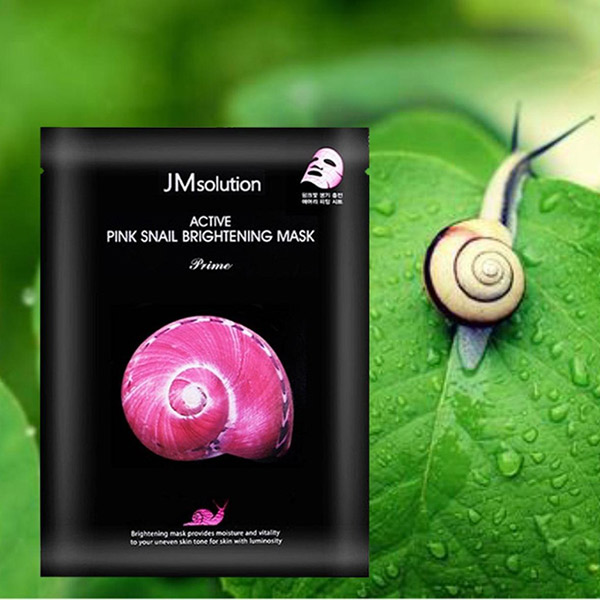 Mặt Nạ Ốc Sên JMSolution Active Pink Snail Brightening Mask