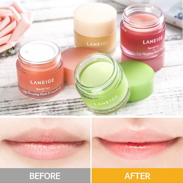 Mặt Nạ Ngủ Môi Laneige Lip Sleeping Mask Mini Kit