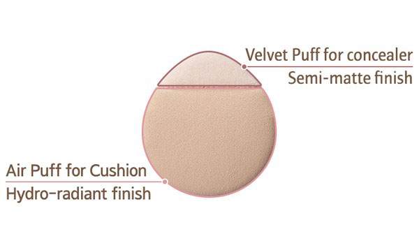 Phấn Nước Laneige Layering Cover Cushion SPF34 PA++
