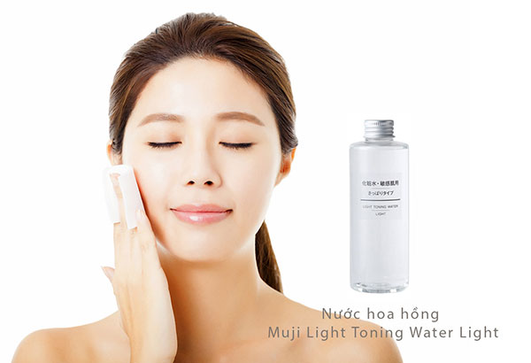 Nước Cân Bằng Da Muji Light Toning Water Light
