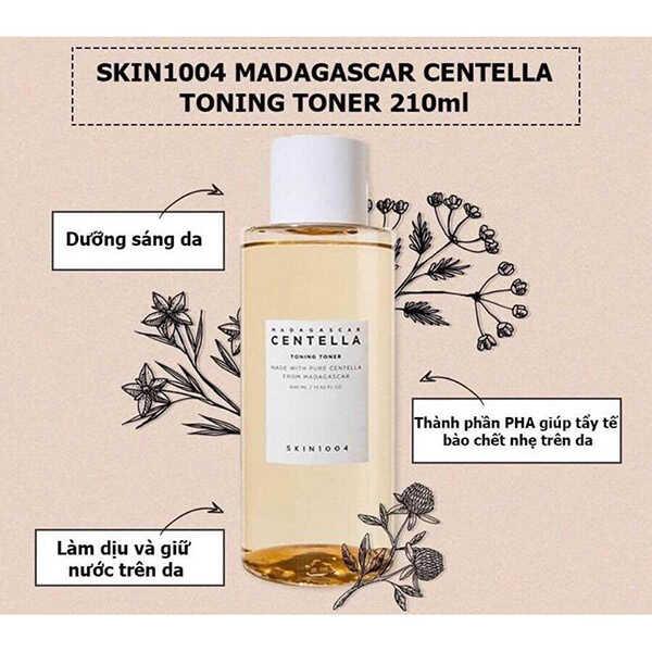 Nước Hoa Hồng Skin1004 Madagascar Centella Toning Toner 210ml